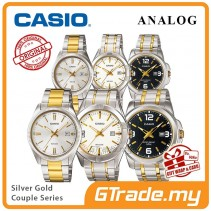 CASIO Men Women Couple Watch Jam Casio Pasangan MTP-LTP-1302SG-1314SG