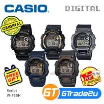 CASIO Men Sports Digital Watch Jam Casio Ori Senaman Lelaki W-735H