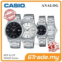 CASIO Men Women Couple Watch Jam Casio Pasangan Original MTP-LTP-V002D