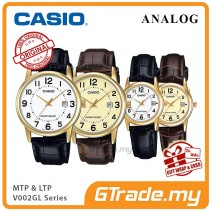 CASIO Men Women Couple Watch Jam Casio Pasangan Original MTP-LTP-V002GL