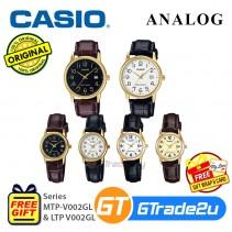 CASIO Men Women Watch Jam Casio Lelaki Wanita Original MTP-LTP-V002GL