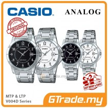 CASIO Men Women Couple Watch Jam Casio Pasangan Original MTP-LTP-V004D