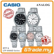 CASIO Men Women Couple Watch Jam Casio Pasangan Original MTP-LTP-V006D