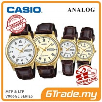 CASIO Men Women Couple Watch Jam Casio Pasangan Original MTP-LTP-V006GL