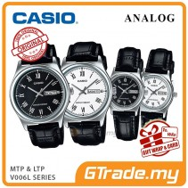 CASIO Men Women Couple Watch Jam Casio Pasangan Original MTP-LTP-V006L