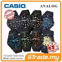CASIO Men Watch Analog Jam Casio Original Lelaki MRW-200H