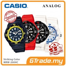 CASIO Men Watch Analog Jam Casio Original Lelaki MRW-200HC