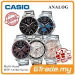 CASIO Men Watch Gentleman Multi-Hand Jam Casio Ori Lelaki MTP-1374D