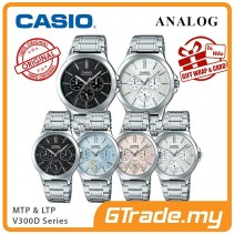 CASIO Men Women Couple Watch Jam Casio Pasangan Original MTP-LTP-V300D