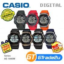 CASIO Men Digital Watch Jam Casio Digital Ori Lelaki AE-1000W 10 Years Batt.