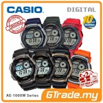 CASIO Men Digital Watch Jam Casio Ori Lelaki AE-1000W 10 Years Batt.