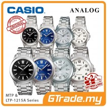 CASIO Men Women Couple Watch Jam Casio Pasangan Ori MTP-LTP-1215A