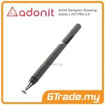 Adonit Professional Artist Drawing Designer Stylus Pen Jot PRO 2.0 Black