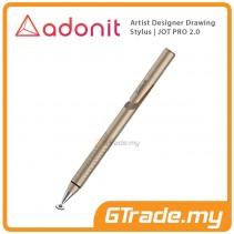 Adonit Professional Artist Drawing Designer Stylus Pen Jot PRO 2.0 Gold
