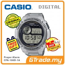 CASIO Men Prayer CPA-100D-1AV Digital Watch | Hijri Prayer Alarm