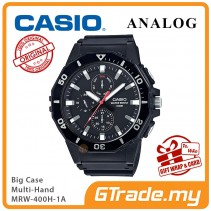 CASIO MEN MRW-400H-1A Analog Watch |Big Size Day Date 24 Hour Display
