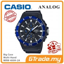 CASIO MEN MRW-400H-2A Analog Watch |Big Size Day Date 24 Hour Display