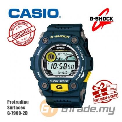 Casio G-Shock Men G-7900-2D G-7900-2 G7900-2D Digital Mat Moto Biru Watch Blue Resin Band G Shock . watch for man . jam tangan lelaki . casio watch for men . casio watch . men watch . watch for men [READY STOCK]