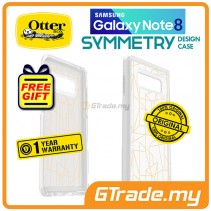 OTTERBOX Symmetry Graphics Clear Case | Samsung Galaxy Note 8 Inside