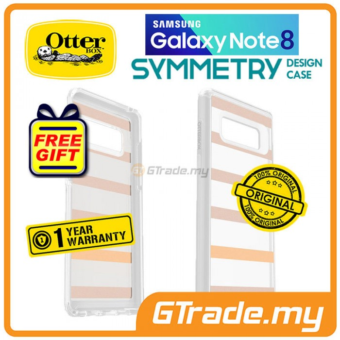 size 40 46ff3 81411 OTTERBOX Symmetry Graphics Clear Case | Samsung Galaxy Note 8 Drop ...