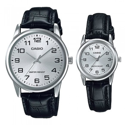 [READY STOCK] CASIO Couple MTP-V001L-7B & LTP-V001L-7B Couple Watch Simple Easy