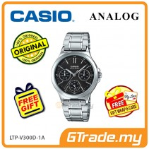 CASIO LADIES LTP-V300D-1AV Analog Watch | Multi-Hand Water Resistant