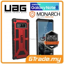 UAG Urban Armor Gear Monarch Protect Case Samsung Galaxy Note 8 Crimson