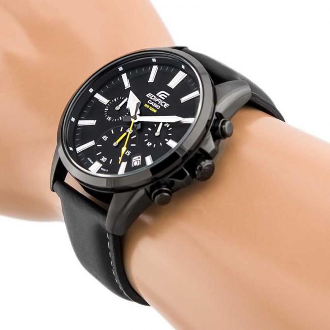 CASIO EDIFICE EFV-510BL-1A Men Chronograph Watch | Clean Smart Design