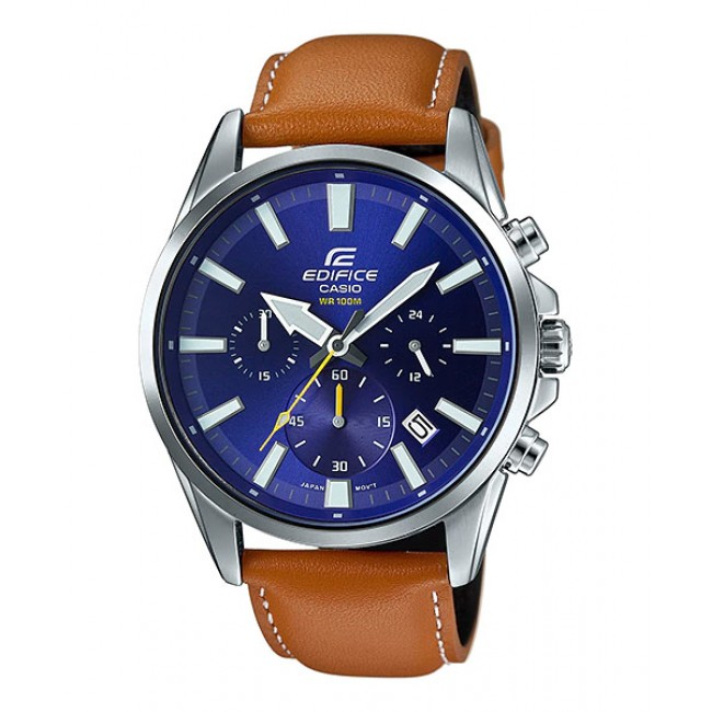 CASIO EDIFICE EFV-510L-2A Men Chronograph Watch | Clean Smart Design