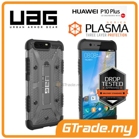 UAG Urban Armor Gear Plasma Tough Case Huawei P10 Plus Ice