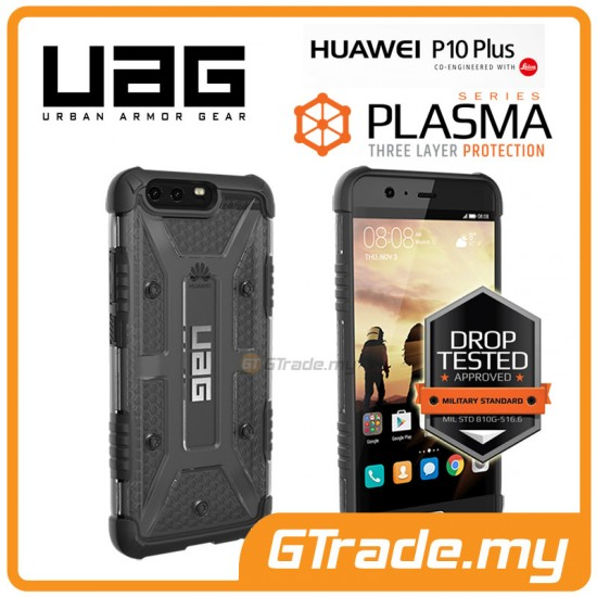UAG Urban Armor Gear Plasma Tough Case Huawei P10 Plus Ash