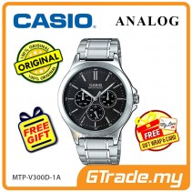 CASIO MEN MTP-V300D-1AV Analog Watch | Multi-Hand Water Resistant