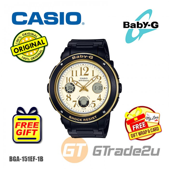 427aaf41f8 CASIO Baby-G BGA-151EF-1B Ladies Women Watch| Feminine Fashion ...