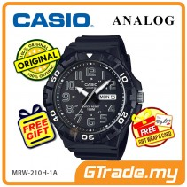 CASIO MEN MRW-210H-1AV Analog Watch | Big Size Day Date Display