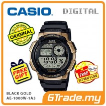 CASIO STANDARD AE-1000W-1A3V Digital Watch | 10 Yrs Batt. WR100M