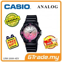 CASIO STANDARD LRW-200H-4EV Analog Ladies Watch | Date Display