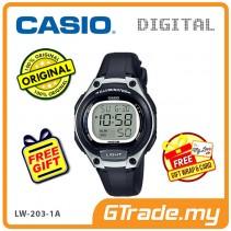[READY STOCK] CASIO Kids Ladies LW-203-1A Digital Watch | Cool Futuristic Standout