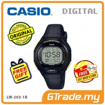 [READY STOCK] CASIO Kids Ladies LW-203-1B Digital Watch | Cool Futuristic Standout
