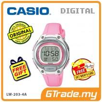 [READY STOCK] CASIO Kids Ladies LW-203-4A Digital Watch | Cool Futuristic Standout