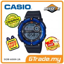 CASIO OutGear SGW-600H-2A Men Watch | Digital Compass Thermo