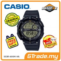 CASIO OutGear SGW-600H-9A Men Watch | Digital Compass Thermo