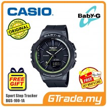 CASIO Baby-G BGS-100-1A Ladies Women Watch | Sport Step Tracker