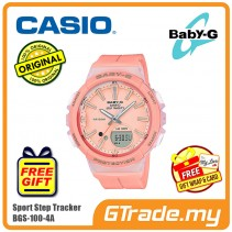 CASIO Baby-G BGS-100-4A Ladies Women Watch | Sport Step Tracker