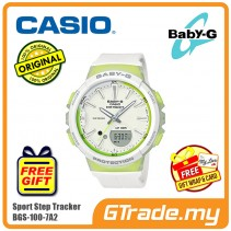 CASIO Baby-G BGS-100-7A2 Ladies Women Watch | Sport Step Tracker
