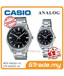 CASIO MTP-V005D-1A & LTP-V005D-1A Couple Watch | Simple Clean Design