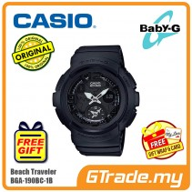 CASIO Baby-G BGA-190BC-1B Women Ladies Watch | Beach Traveler