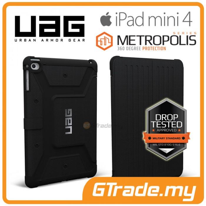 promo code 35a36 87fec UAG Urban Armor Gear Metropolis Case Apple iPad Mini 4 Black