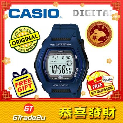 [READY STOCK] CASIO DIGITAL HDD-600C-2AV Watch | Dual Time 10 Years Battery Life