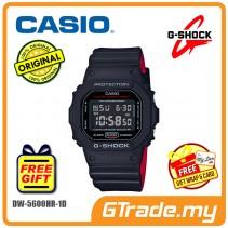 CASIO G-Shock DW-5600HR-1D Men Watch | Black X Red Heritage Color