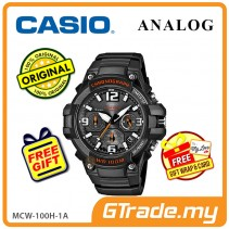 CASIO MEN MCW-100H-1A Analog Watch | Tough Looking Case
